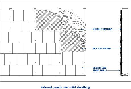 Technical Drawings For Cedar Roof Siding Shingles