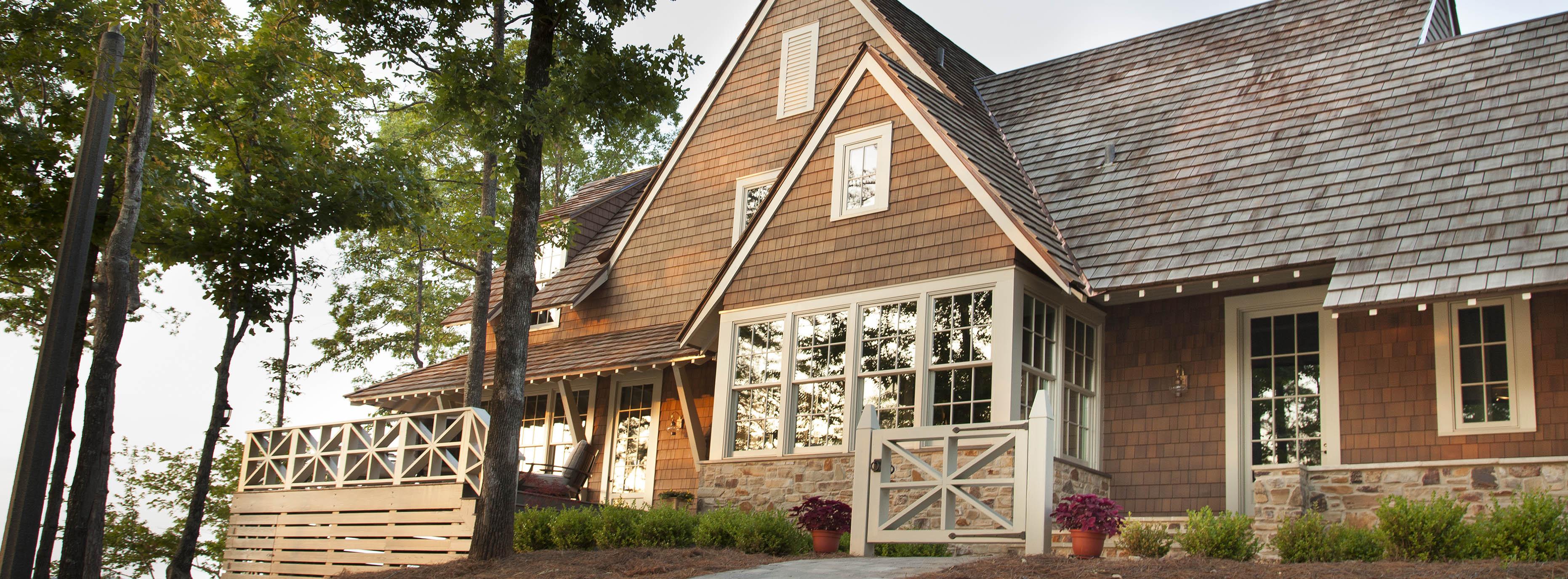 Shakertown Cedar Siding | Cedar Shake Siding, Shingles, Roofing